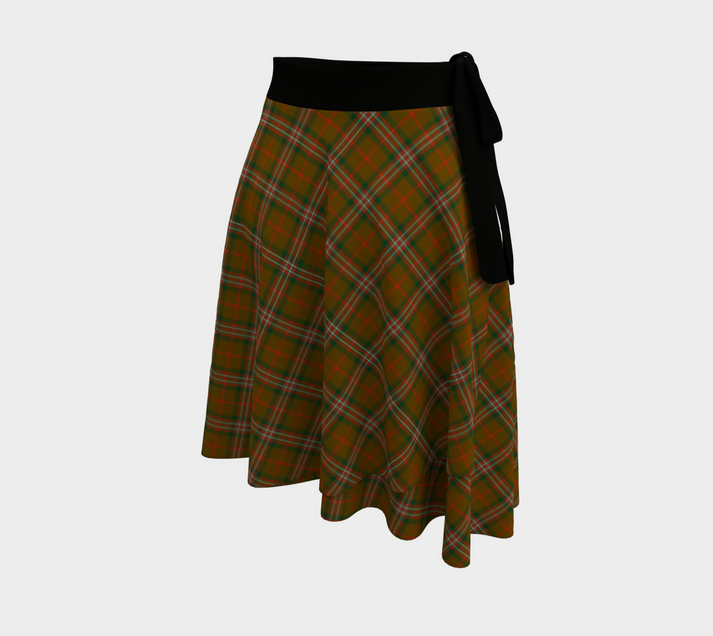 Scott Brown Modern Tartan Wrap Skirt