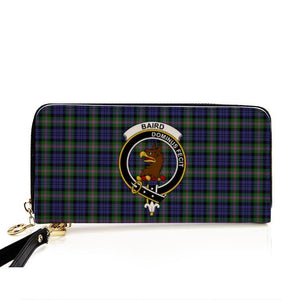 Baird  Clan Badge Tartan Zipper Wallet