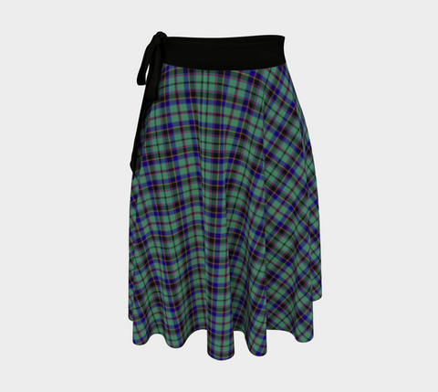 Image of Stevenson Tartan Wrap Skirt