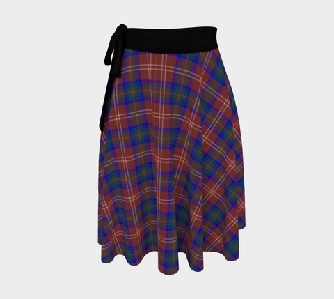 Image of Chisholm Hunting Modern Tartan Wrap Skirt