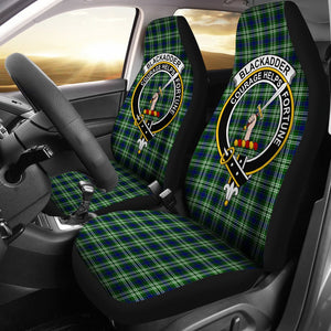 Blackadder Clan Badge Tartan Car Seat Cover