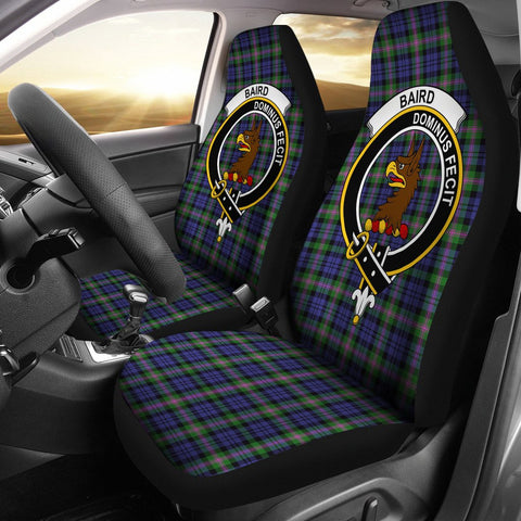 Baird  Clan Badge Tartan Car Seat Cover