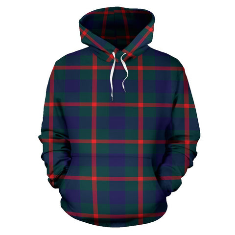 Image of Agnew Modern Tartan All Over Print Hoodie