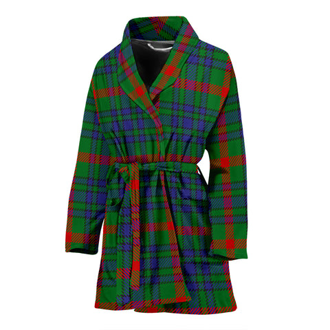 Aiton Tartan Women's Bathrobe H01