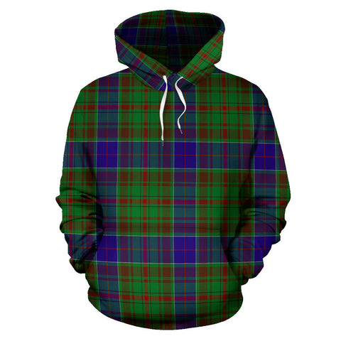 Image of adam Tartan All Over Print Hoodie H01