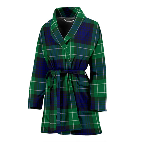 Abercrombie Tartan Women's Bathrobe H01