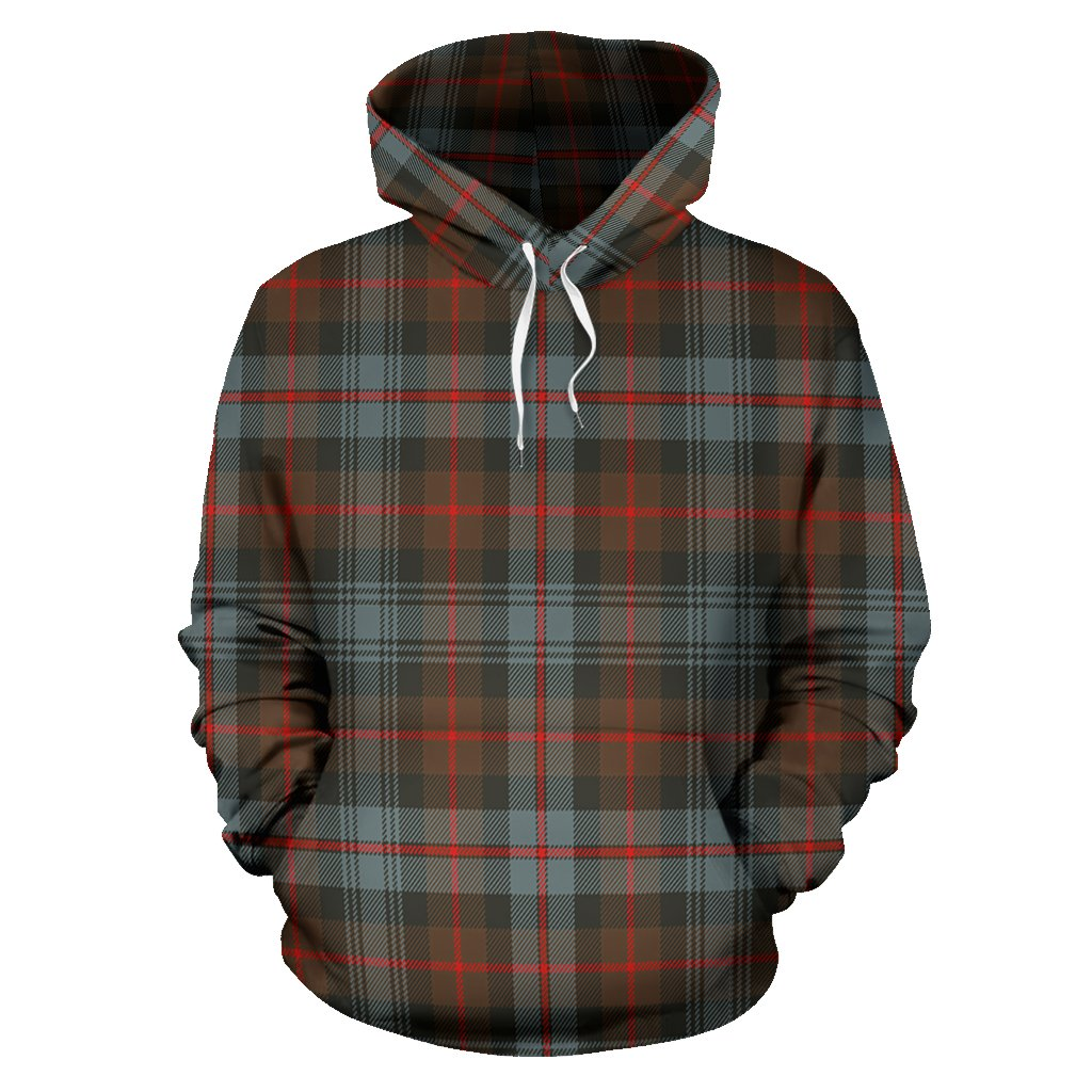 Murray of Atholl Weathered Tartan All Over Print Hoodie