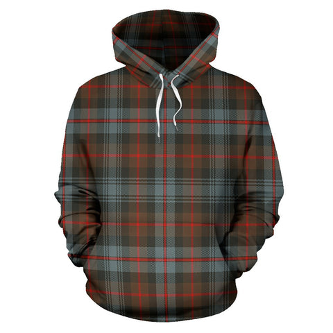 Image of Murray of Atholl Weathered Tartan All Over Print Hoodie