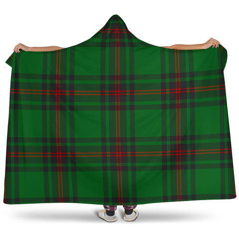 Anstruther Tartan Hooded Blanket H01