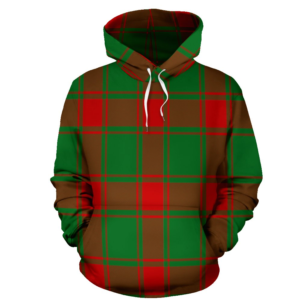 Middleton Modern Tartan All Over Print Hoodie