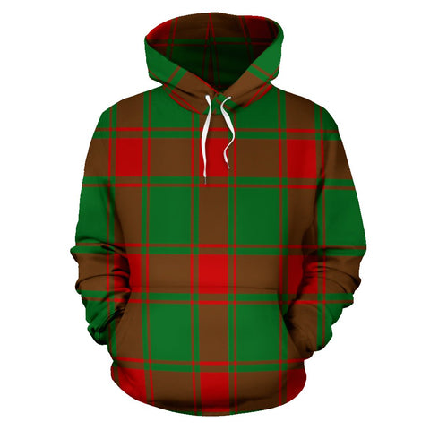 Image of Middleton Modern Tartan All Over Print Hoodie