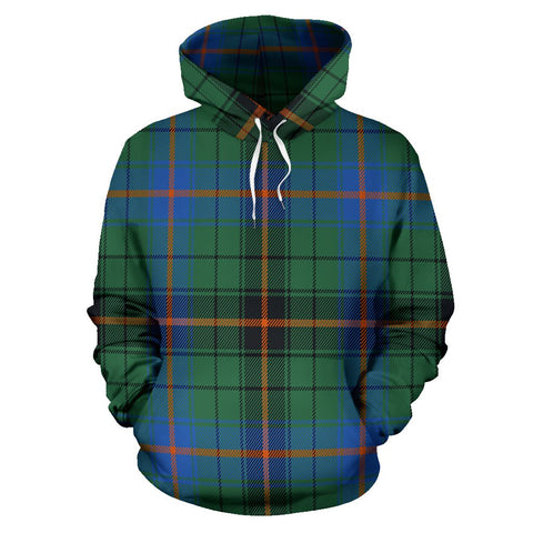 Image of Davidson Ancient Tartan All Over Print Hoodie