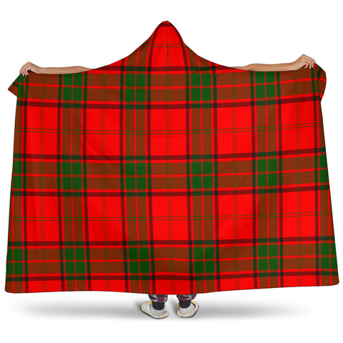 Image of Adair Tartan Hooded Blanket H01