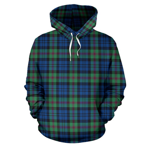 Image of Baird Ancient Tartan All Over Print Hoodie