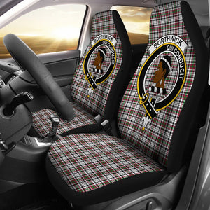 Borthwick Clan Badge Tartan Car Seat Cover