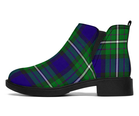 Image of Alexander Tartan Fashion Boots H01