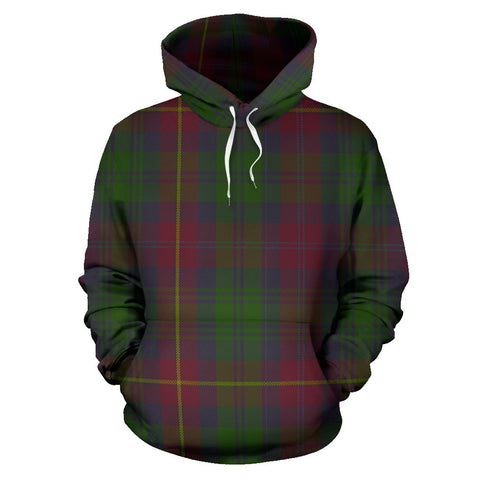 Image of Cairns Tartan All Over Print Hoodie