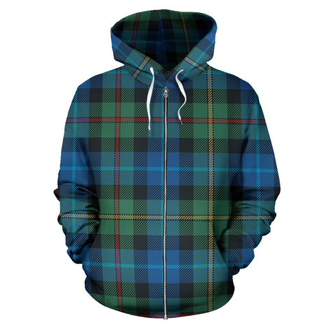Image of Smith Ancient Tartan All Over Zip Hoodie