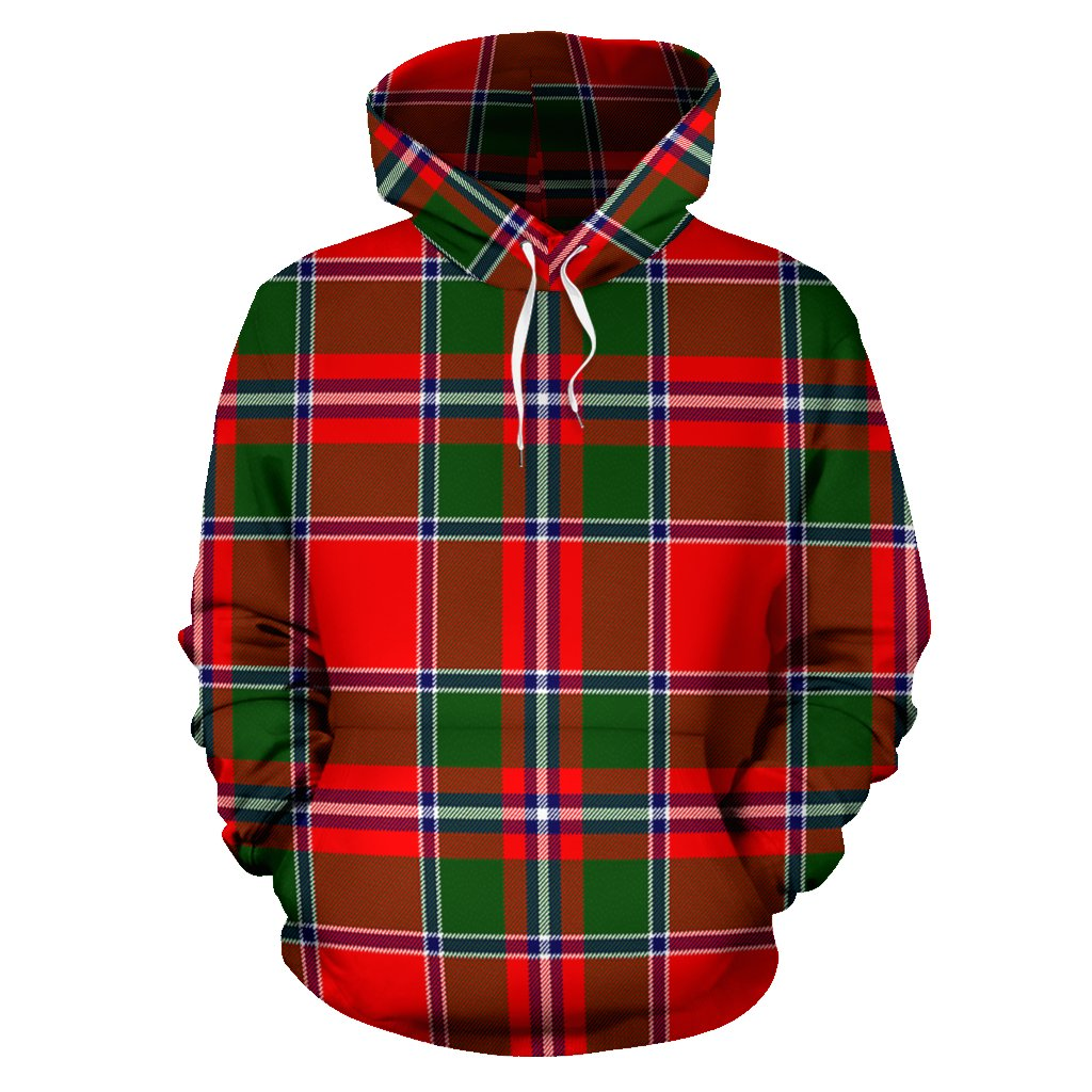 Spens Modern Tartan All Over Print Hoodie