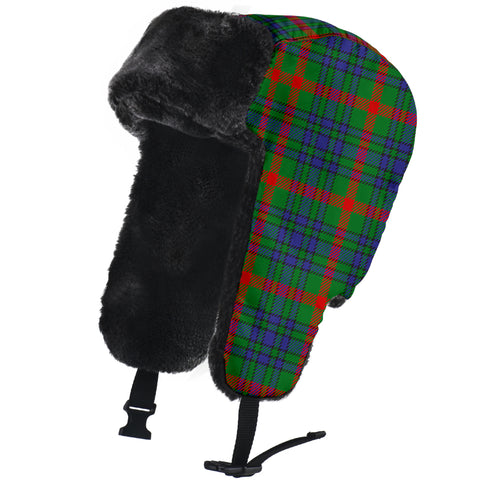 Image of Aiton Tartan Trapper Hat H01