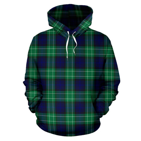 Abercrombie Tartan All Over Print Hoodie
