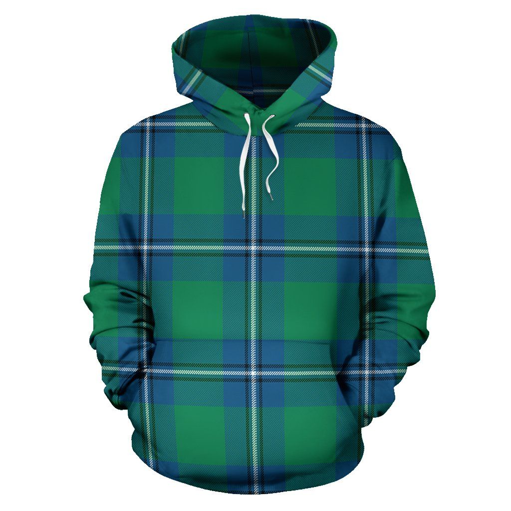 Irvine Ancient Tartan All Over Print Hoodie