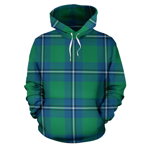 Image of Irvine Ancient Tartan All Over Print Hoodie