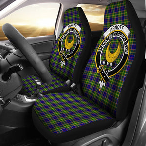 Arnott Clan Badge Tartan Car Seat Cover
