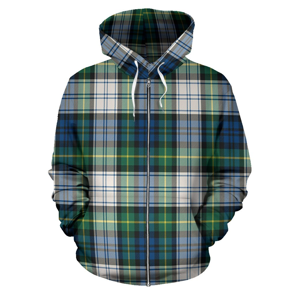 Gordon Dress Ancient Tartan All Over Zip Hoodie