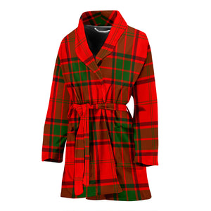 Adair Tartan Women's Bathrobe H01