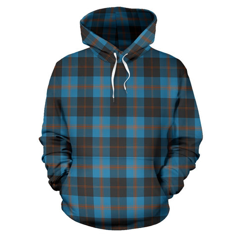 Image of Angus Ancient Tartan All Over Print Hoodie