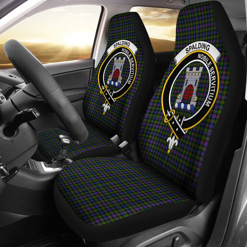 Spalding Murray of Atholl Clan Badge Tartan Car Seat Cover