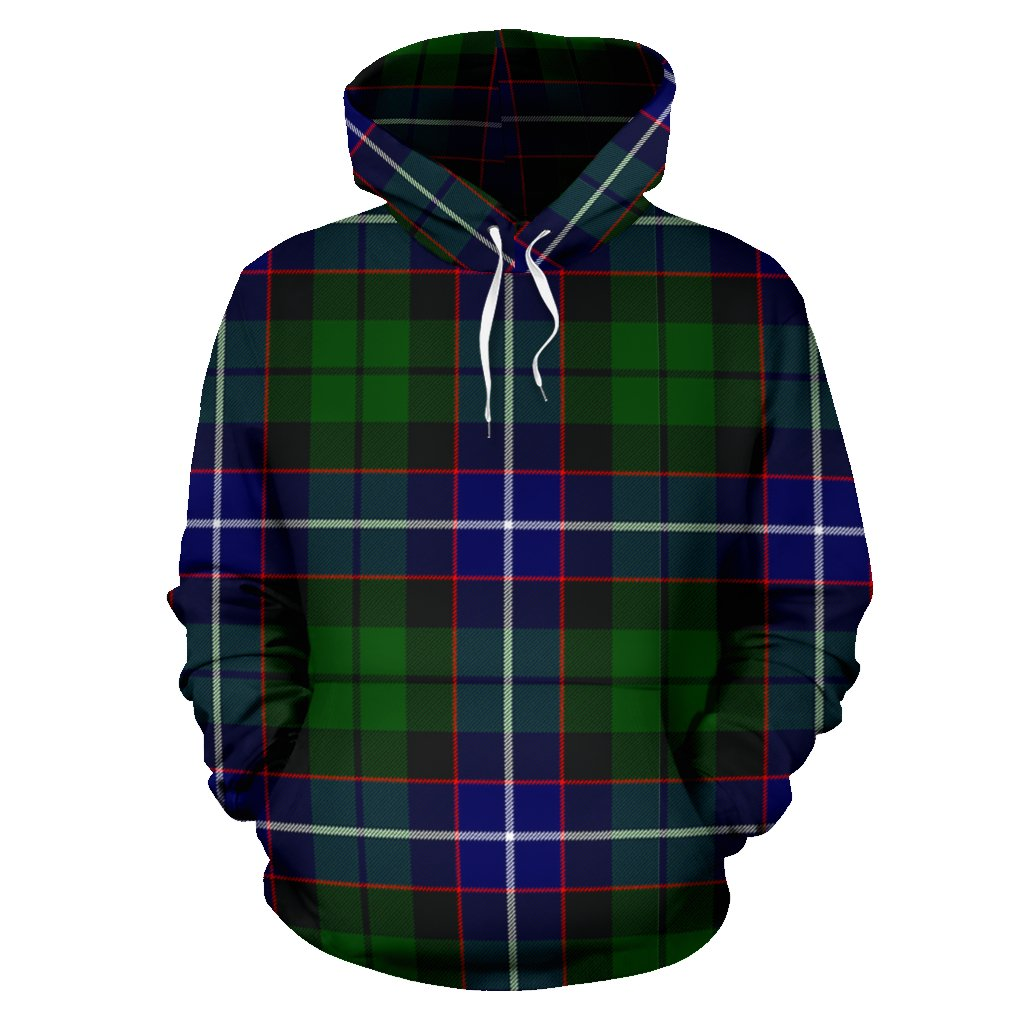Russell Tartan All Over Print Hoodie