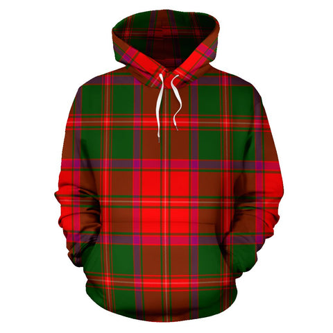 Image of Crief District Tartan All Over Print Hoodie