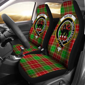 Baxter  Clan Badge Tartan Car Seat Cover