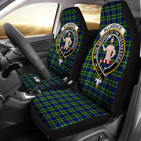 Allardice Clan Badge Tartan Car Seat Cover