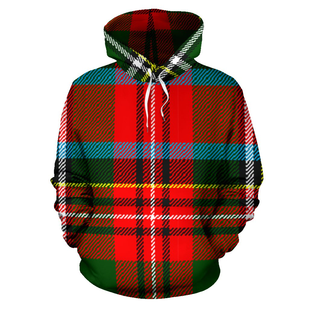 Stewart Royal Modern Tartan All Over Print Hoodie