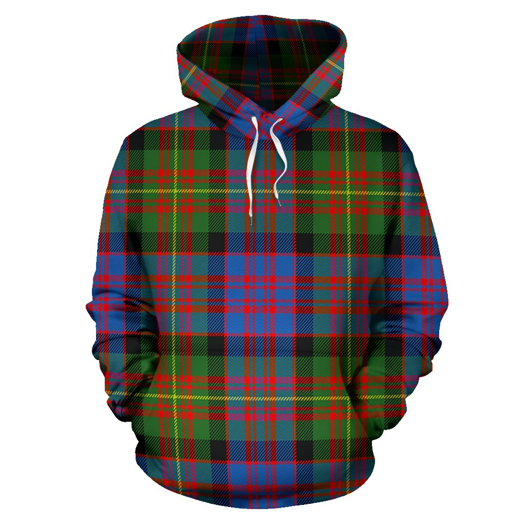 Carnegie Ancient Tartan All Over Print Hoodie