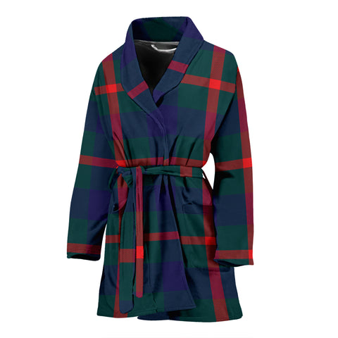 Agnew Modern Tartan Women's Bathrobe H01