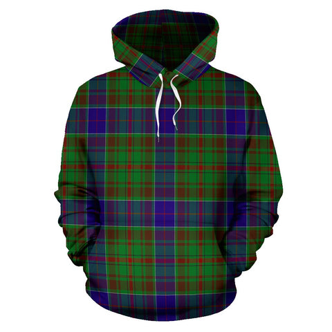adam Tartan All Over Print Hoodie