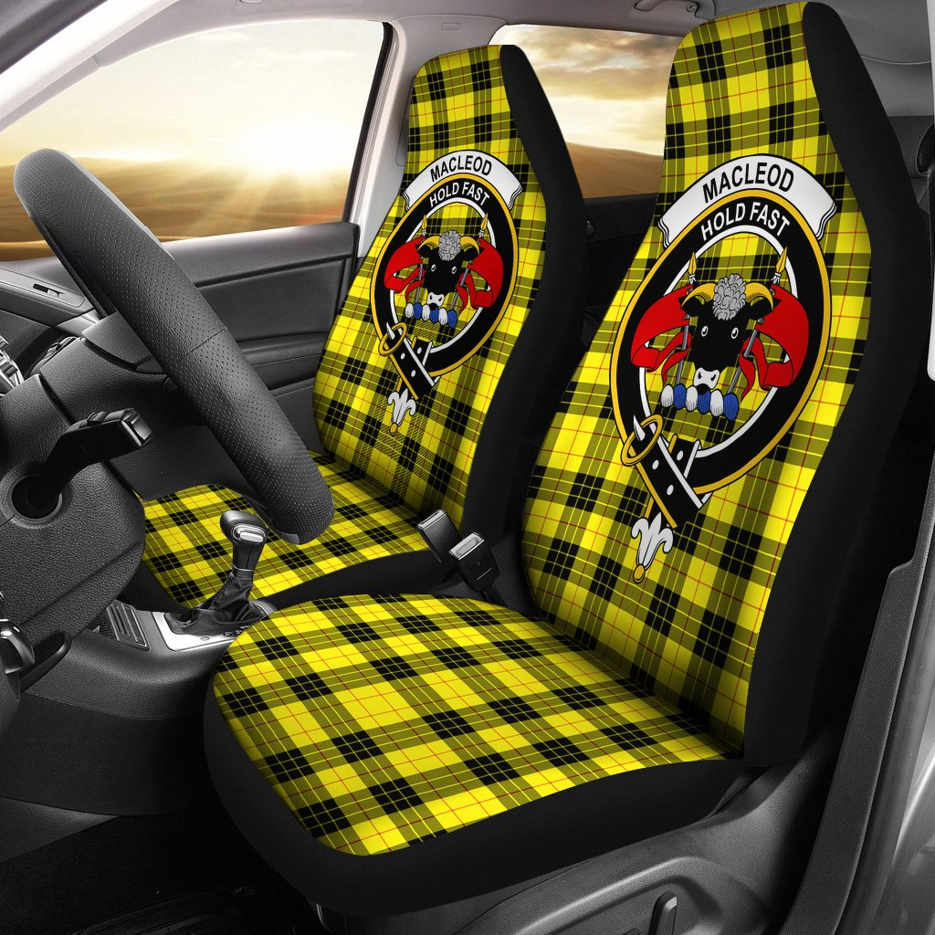 MacLeod of Lewis Clan Badge Tartan Car Seat Cover