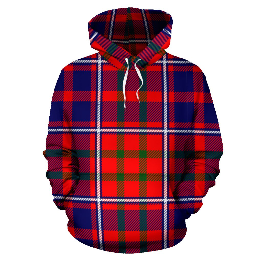 Cameron of Lochiel Modern Tartan All Over Print Hoodie