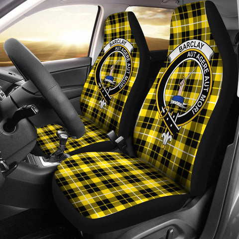 Barclay   Clan Badge Tartan Car Seat Cover