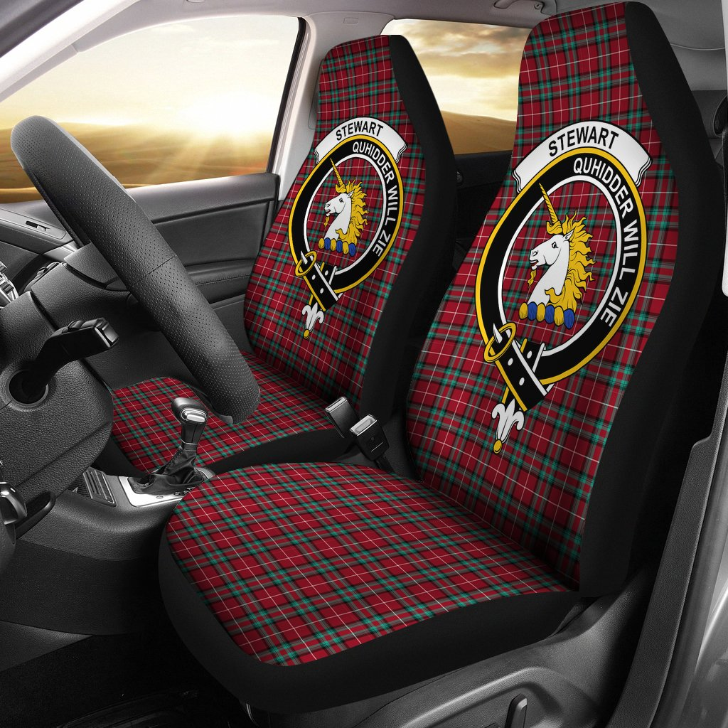 Stewart (Stuart) of Bute Clan Badge Tartan Car Seat Cover