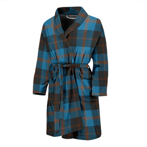 Angus Ancient Tartan Bathrobe - Men's H01