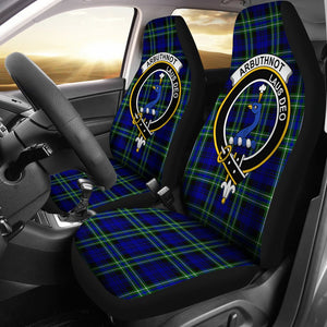 Arbuthnot  Clan Badge Tartan Car Seat Cover