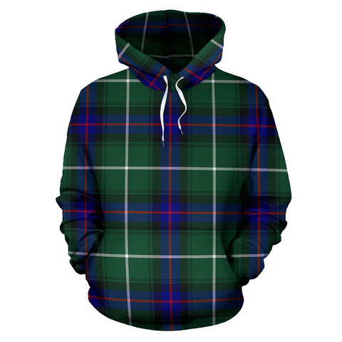 Image of MacDonald of the Isles Hunting Modern Tartan All Over Print Hoodie