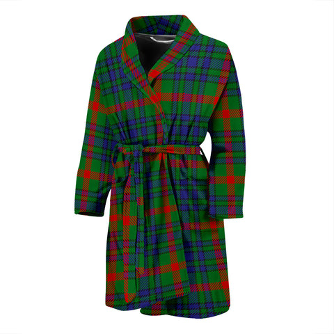 Aiton Tartan Bathrobe - Men's H01