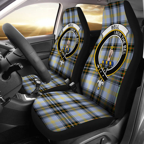 Bell Of The Borders Clan Badge Tartan Car Seat Cover