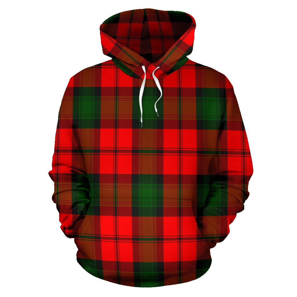 Kerr Modern Tartan All Over Print Hoodie